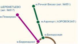 Как добраться в Шереметьево