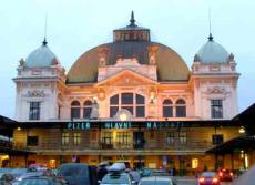 Пльзень - жд вокзал