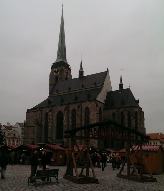 Пльзень, Кафедральный собор святого Варфоломея