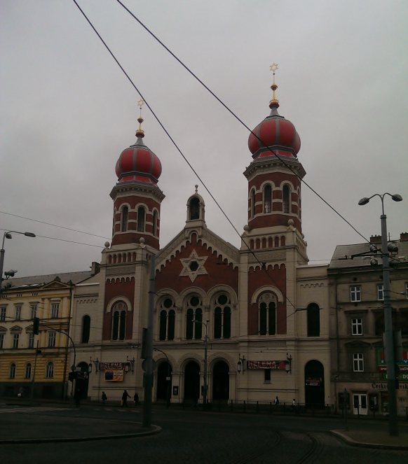 Пльзень, синагога